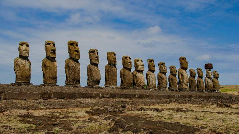 Easter Island screen