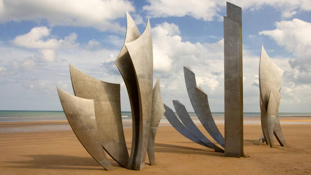 WW2 Memorial, Omaha Beach
