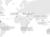 Around the World Route Map