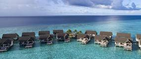 Four Seasons Resort Maldives Spa aerial